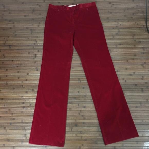 03552cb8fe29 MaxMara Pants | Max Mara Weekend Red Corduroy | Poshmark